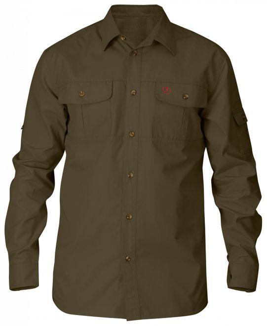 Fjällräven Singi Trekking Shirt Herren Outdoor Hemd - dark olive
