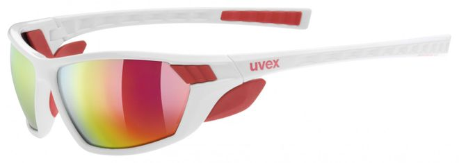 Uvex Sportstyle 307 Sportbrille - white red