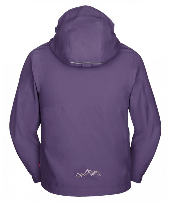Vaude Kids Campfire 3in1 Jacket IV - dusty violet – Bild 2