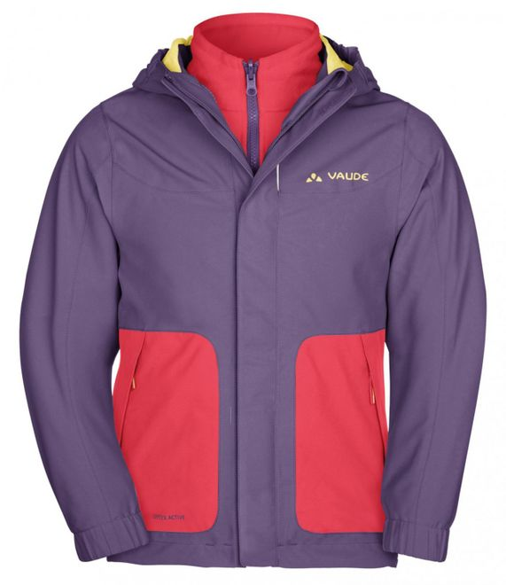 Vaude Kids Campfire 3in1 Jacket IV - dusty violet – Bild 1