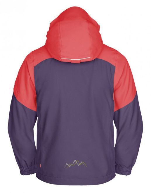 Vaude Kids Little Champion IV 3in1 Jacket - dusty violet – Bild 2