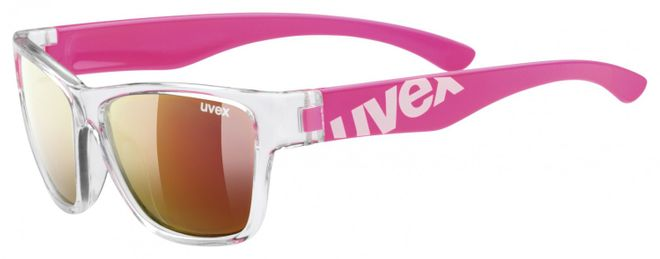 Uvex Sportstyle 508 Kinder-Sonnenbrille - clear pink