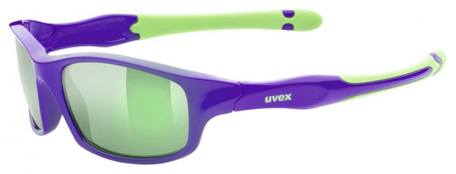 Uvex Sportstyle 507 Kinder-Sportbrille - lilac green