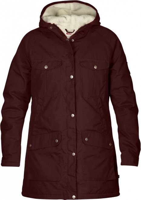 Fjällräven Greenland Winter Parka W - burnt red