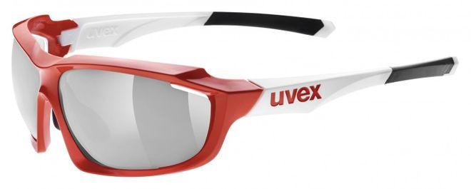 Uvex Sportstyle 710 vario m Radsportbrille - red white