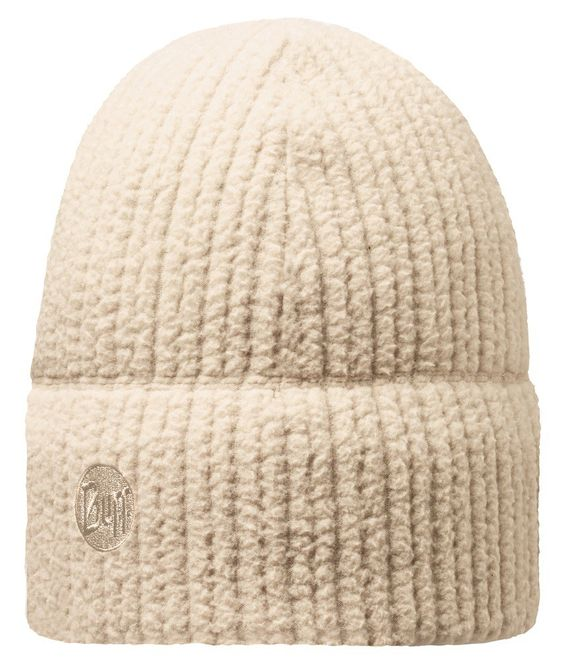 Buff Thermal Hat - solid cream