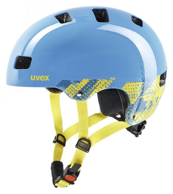 Uvex Kid 3 Kinder-Fahrradhelm - blackout blue