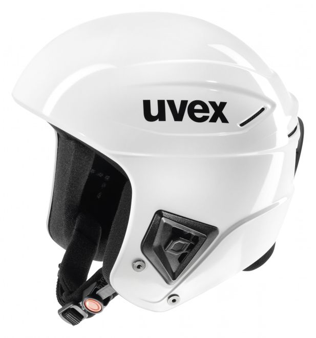 Uvex Race+ Skihelm - all white