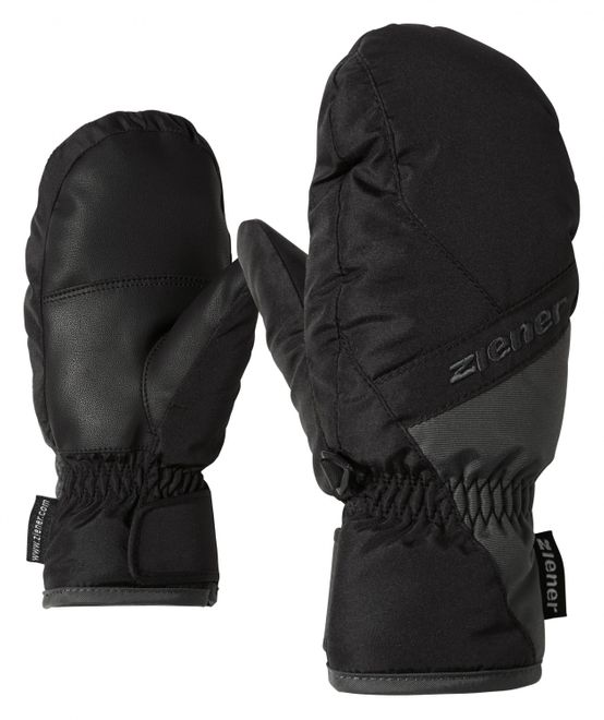 Ziener LUGGAMOI MITTEN glove junior  - black/graphite