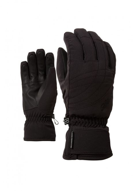 Ziener KOSIMA AS lady glove  - black/black