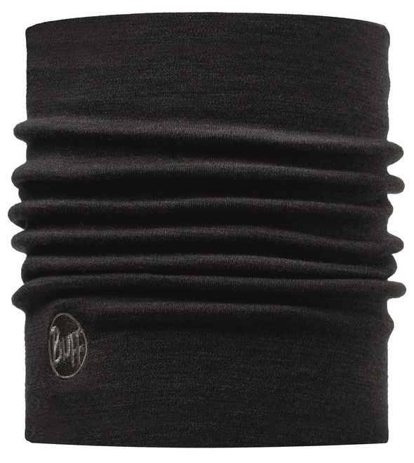 Buff Thermal Merino Wool Neckwarmer - black