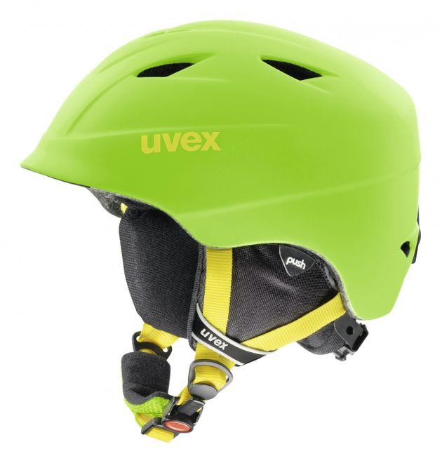 Uvex airwing 2 pro Junior Skihelm - applegreen mat