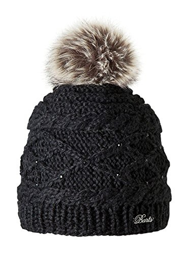Barts Claire Beanie Girls - black size 53
