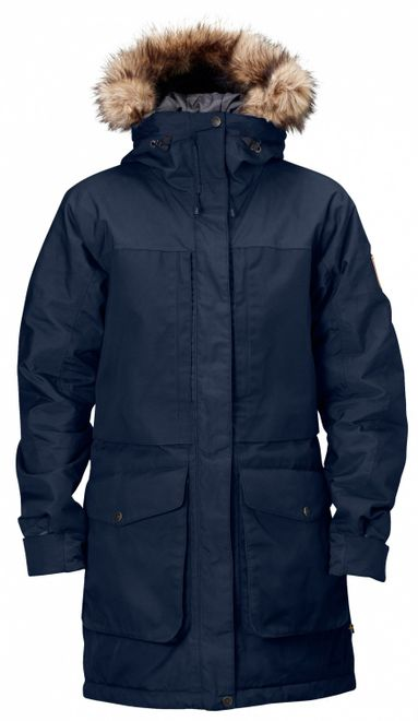 Fjällräven Barents Damen Winter Parka - Dark Navy