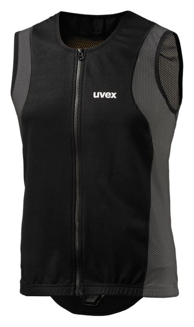 Uvex back connected m Ski-Protektor - dark grey – Bild 1
