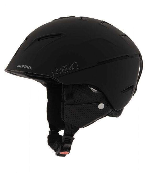 Alpina Cheos Skihelm - black matt