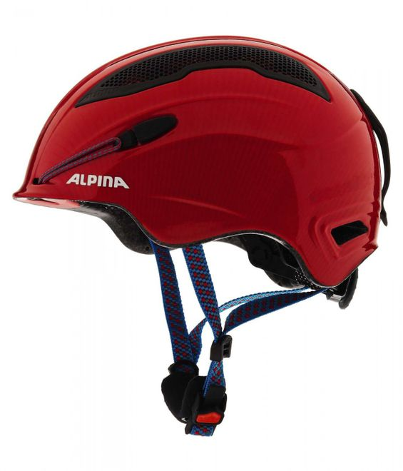Alpina Snow Tour Skihelm - red