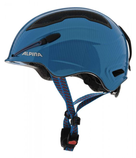 Alpina Snow Tour Skihelm - blue