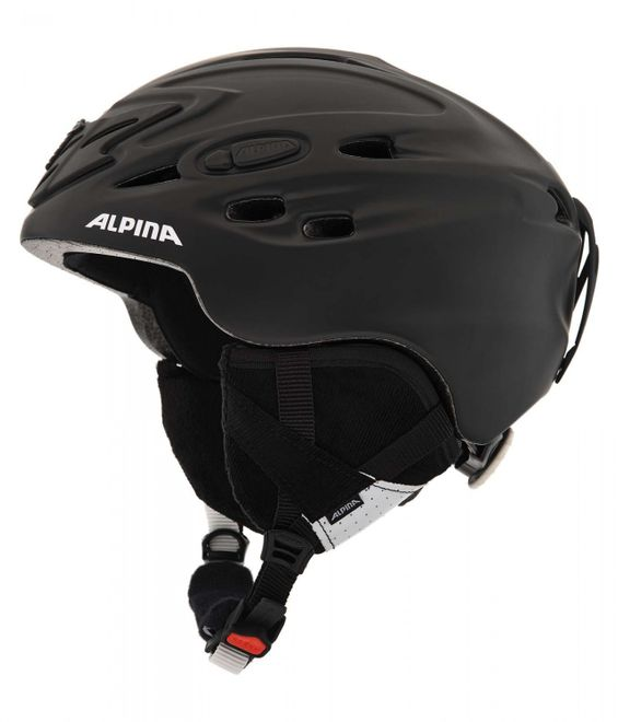 Alpina Scara Skihelm - black matt