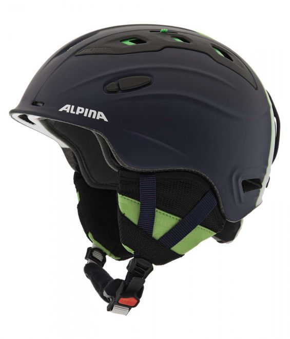 Alpina Snow Mythos Skihelm - blue white matt