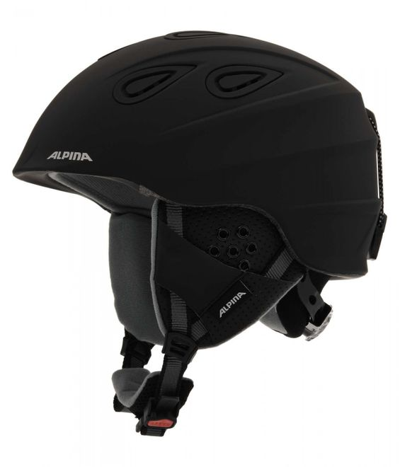 Alpina Grap 2.0 Skihelm - black matt
