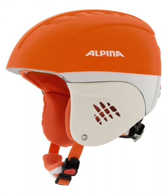Alpina Carat LE Jugend-Skihelm - orange race matt