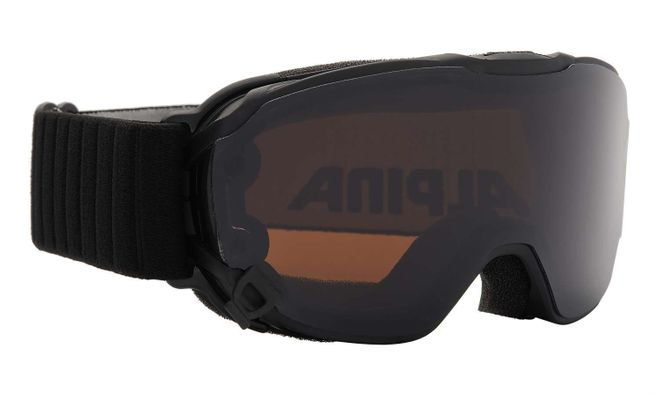 Alpina Pheos Jr. Magnetic Jugend Skibrille - black