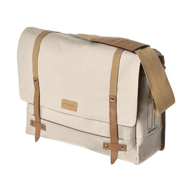Basil Messenger Bag Portland - creme