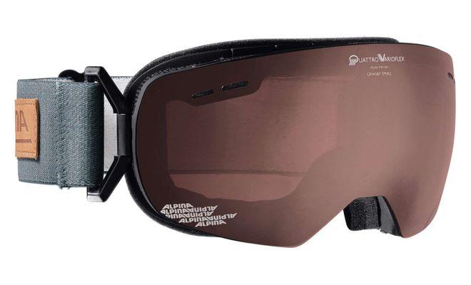Alpina Granby S QVMM Skibrille - black