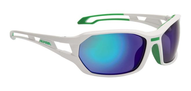 Alpina Berryn CM+ Sportbrille - white green