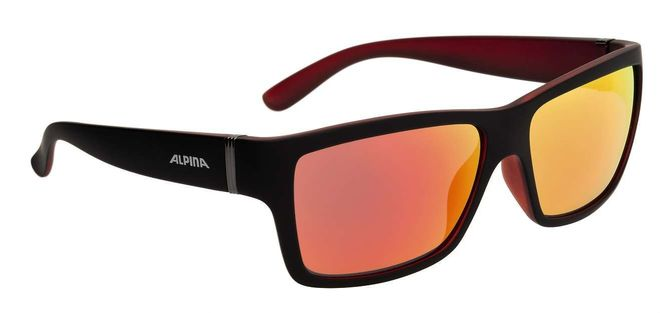 Alpina Kacey Sonnenbrille - black matt red