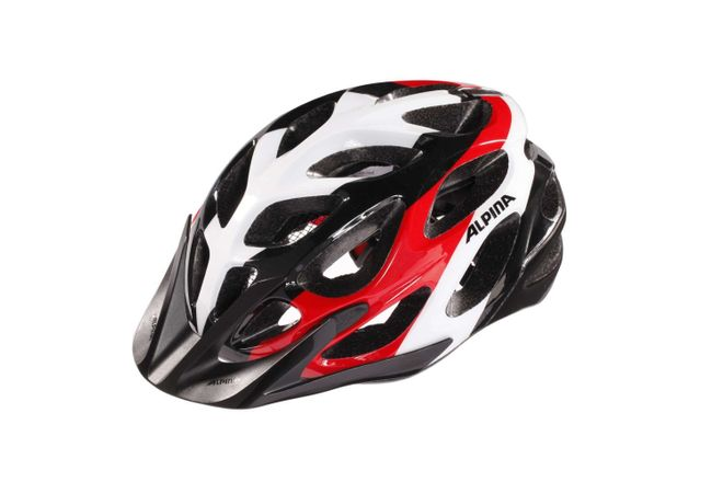 Alpina Mythos 2.0 Fahrradhelm - black white red