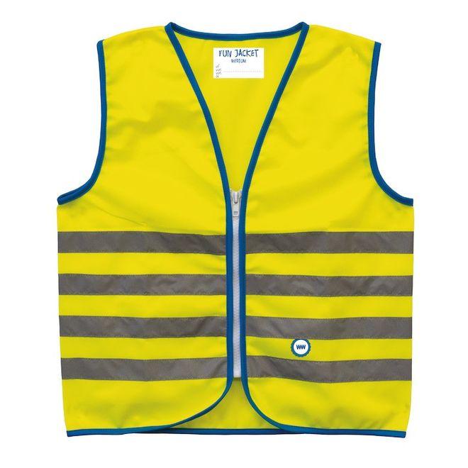 WowWow Reflexweste Fun Jacket - gelb