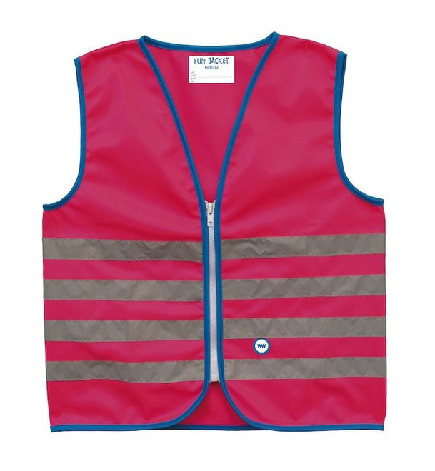 WowWow  Reflexweste Fun Jacket - pink