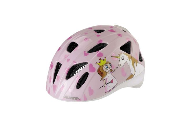 Alpina Ximo Flash Kinder Fahrradhelm - princess