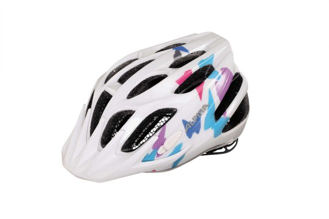 Alpina FB jr. 2.0 Junior Fahrradhelm - white butterfly