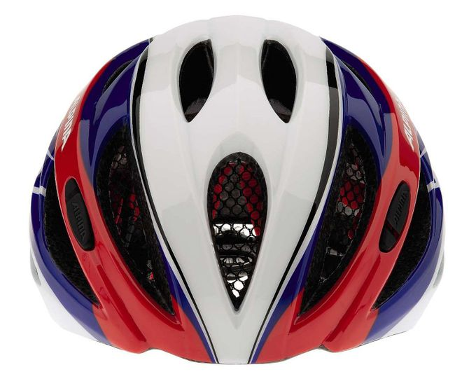 Alpina Cybric Fahrradhelm - white blue red – Bild 2