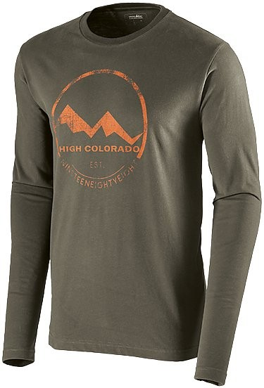 High Colorado Wallis Winter HC Logoshirt Men - schwarze olive – Bild 2