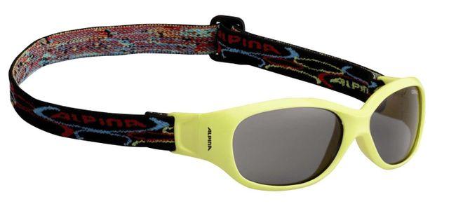 Alpina Sports Flexxy Kids Kinder Sonnenbrille - yellow