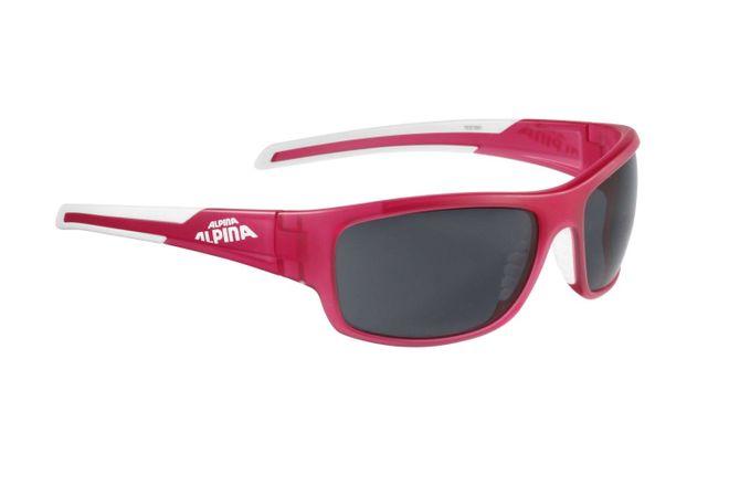 Alpina Testido Sportbrille - berry white