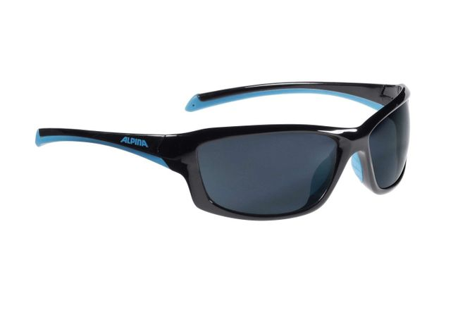 Alpina Dyfer Sportbrille - black cyan