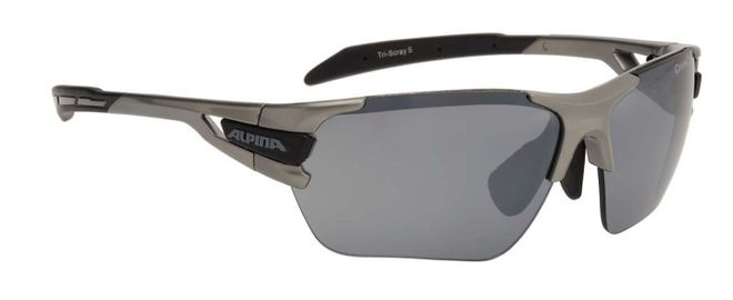 Alpina Tri-Scray S Sportbrille - tin black