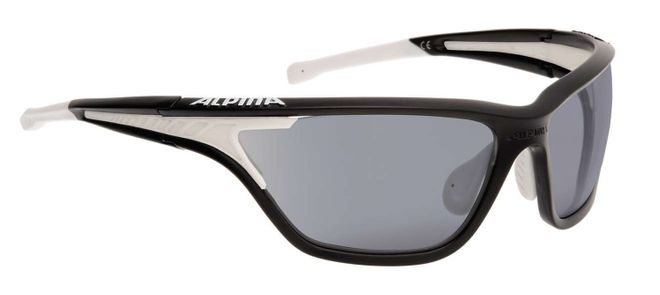 Alpina Eye-5 Tour VLM+ Sportbrille - black matt white