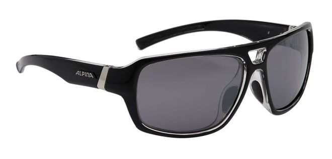 Alpina Yuko Sonnenbrille - black transparent