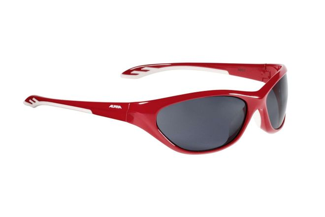 Alpina Seico Junior Sportbrille - red white