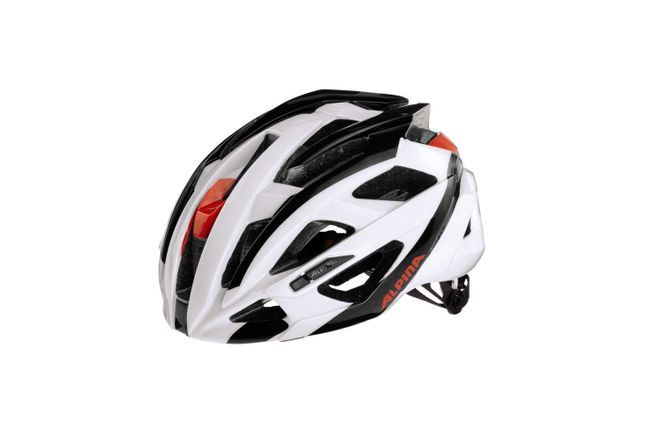 Alpina Valparola RC Fahrradhelm - black-white red