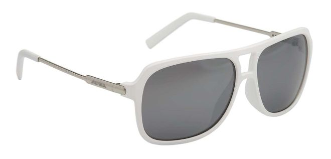 Alpina A112 Lifestyle-Brille - white matt