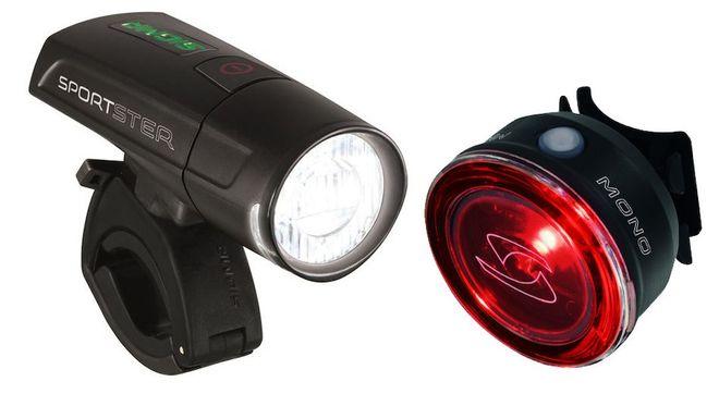 Sigma Beleuchtungsset Sportster / Mono RL 18250 - schwarz
