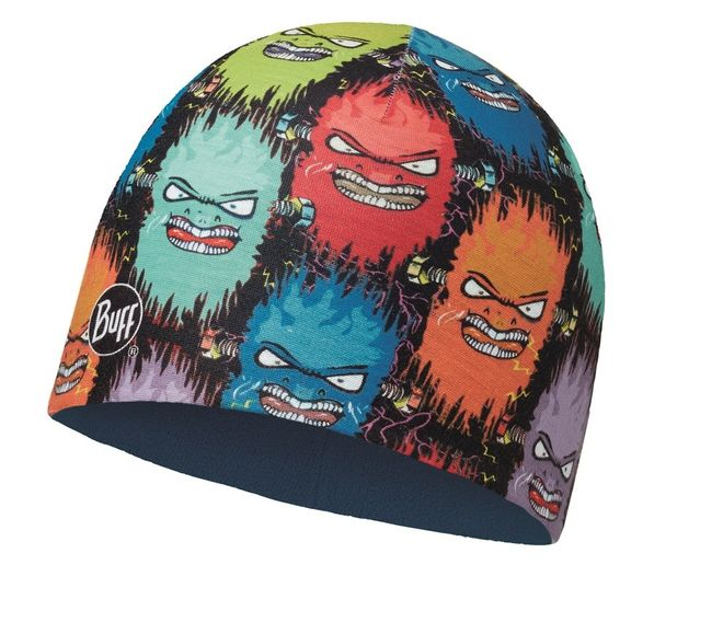 Buff Child Microfiber & Polar Hat - terrifying multi - harbor