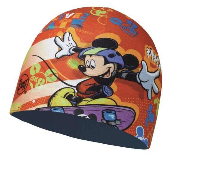 Buff Child Microfiber & Polar Hat Mickey - sk8 red - harbor